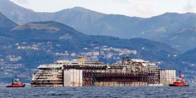 Costa Concordia a Genova, ora sarà smantellata