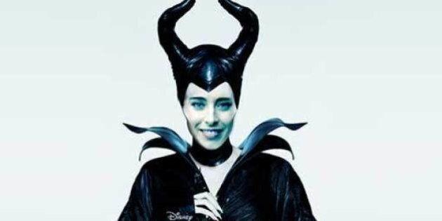 Blog Beppe Grillo, Maria Elena Boschi ritratta come Angelina Jolie in Maleficient: