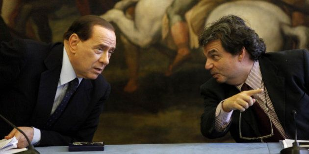 Silvio Berlusconi contro Renato Brunetta dopo l'attacco a Matteo Renzi: