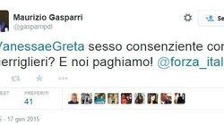 Gasparri shock su Greta e Vanessa: