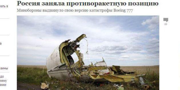 MH17, l'aereo abbattuto in Ucraina: le risposte e le teorie dei giornali russi di fronte alle accuse