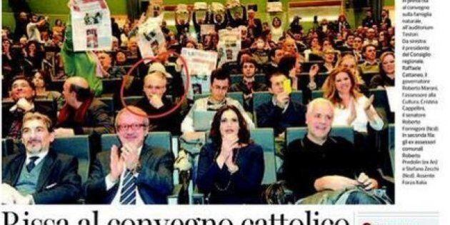 Al convegno sulla famiglia di Roberto Maroni c'è anche don Inzoli, prete condannato dal Vaticano per...