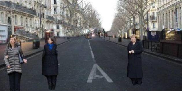 La marcia di Parigi senza gli uomini. Su Twitter l'ironia contro il giornale ebraico ultra-ortodosso