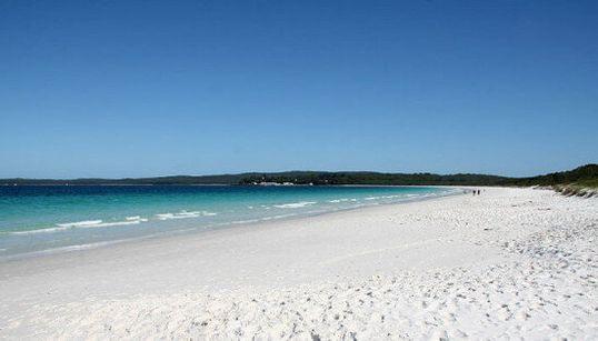 E' la spiaggia più bianca del mondo