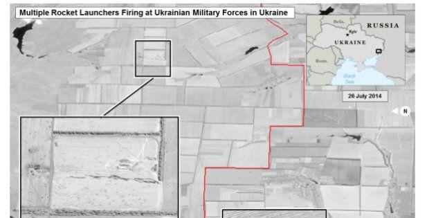 MH17, gli Usa pubblicano foto satellitari che dimostrano il lancio di missili dalla Russia contro l'est