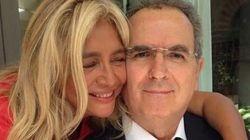 L'abbraccio della Venier all'amico Lamberto Sposini su Instagram