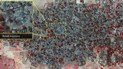 Prima e dopo gli attacchi di Boko Haram. La distruzione nelle immagini