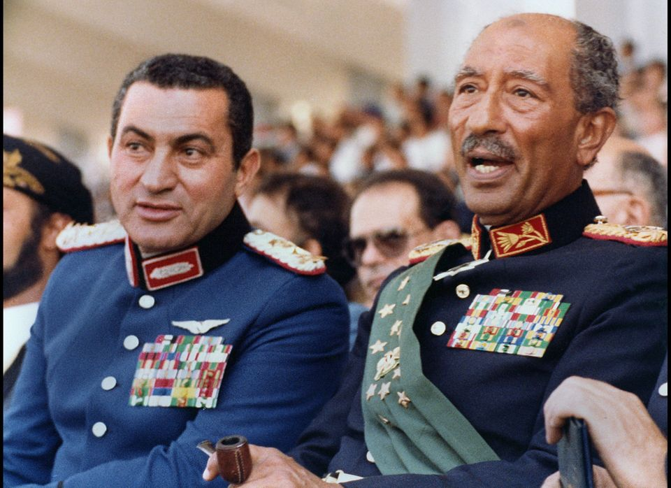 Egyptian President Anwar Sadat choses Hosni Mubarak as his vice president.
