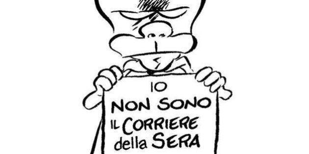 Vignettisti contro il Corriere della Sera. Lo speciale su Charlie Hebdo fa infuriare le matite: