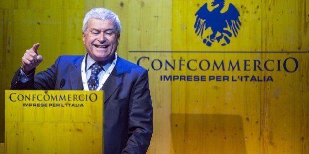 Confcommercio, il presidente Carlo Sangalli: