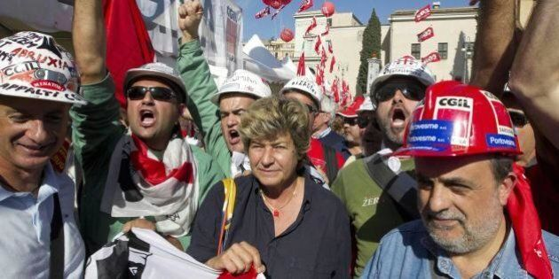 Manifestazione Cgil 25 ottobre: dalla Lucchini ad Almaviva, tutte le vertenze di piazza San