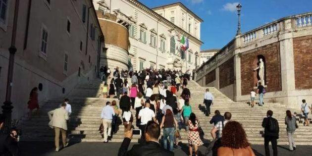 Senato, M5S e Lega marciano sul Colle ma Giorgio Napolitano non li riceve. I grillini: