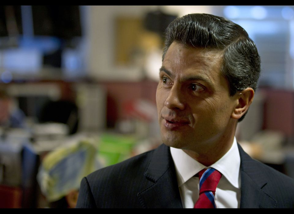 1. He's handsome.