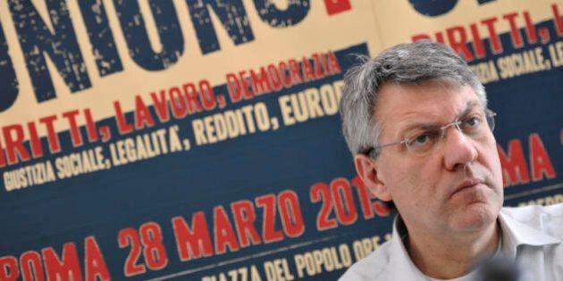 Maurizio Landini al primo test in piazza con la coalizione sociale. Il tarlo: come spiegare che il sindacato...