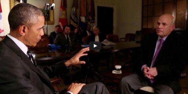 Se Barack Obama intervista David Simon di The