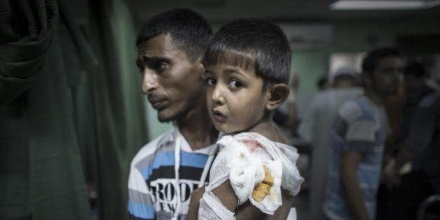 Gaza Israele, scuola Onu colpita: 15 morti. A Gerusalemme continuano i raid contro i palestinesi: tre