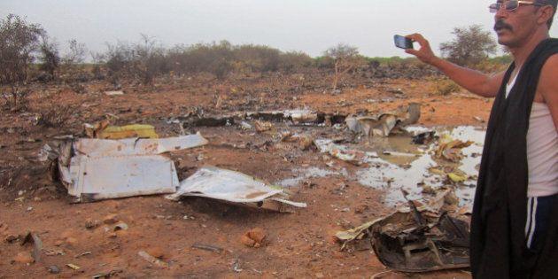 Mali, aereo Air Algerie caduto: ecco le prime immagini