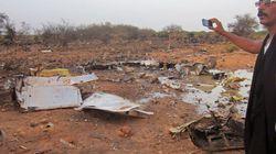 Aereo caduto in Mali, le prime immagini del disastro