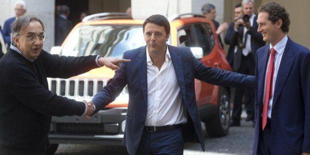 Matteo Renzi alle prese con i dossier economici. Lavora al decreto Sblocca Italia. Colloquio con Juncker...