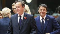 Renzi si appoggia, dopo Hollande, anche a Cameron per puntare i piedi in