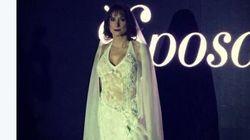 Luxuria sfila da sposa, scoppia la polemica
