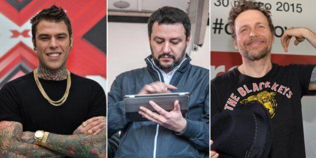 Jovanotti, Fedez VS Matteo Salvini. La rissa a tre: