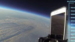 L'iPhone 6 va in orbita e torna a Tarra senza un graffio