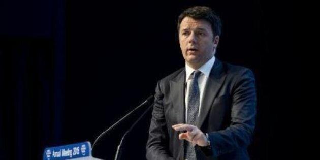 Davos, summit di Matteo Renzi con Thomas Bach (Cio):