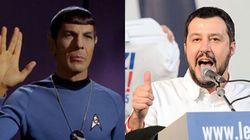 La lezione del Capitano Spock che Matteo Salvini non