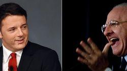 Renzi riabbraccia De Luca (sperando nel Tar)