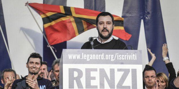 Salvini ce l'ha duro. Il leader della Lega umilia Tosi, commissaria il Veneto e su Zaia non tratta con...