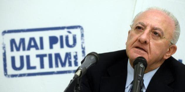 Legge Severino, governo e Pd non interverranno. Vincenzo De Luca al voto in Campania col dilemma: se...