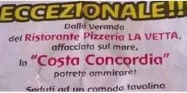 Costa Concordia, ristorante pubblicizza vista sul relitto: bufera sull'iniziativa. Il proprietario si...