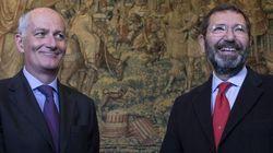 Il neoprefetto di Roma Gabrielli incontra Marino in Campidoglio