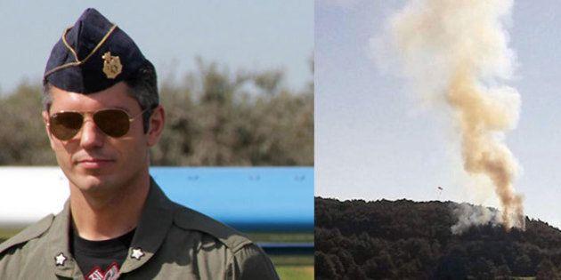Francesco Sferra, pilota di caccia vola sul suo paese e si schianta. Ipotesi inchino dei cieli a