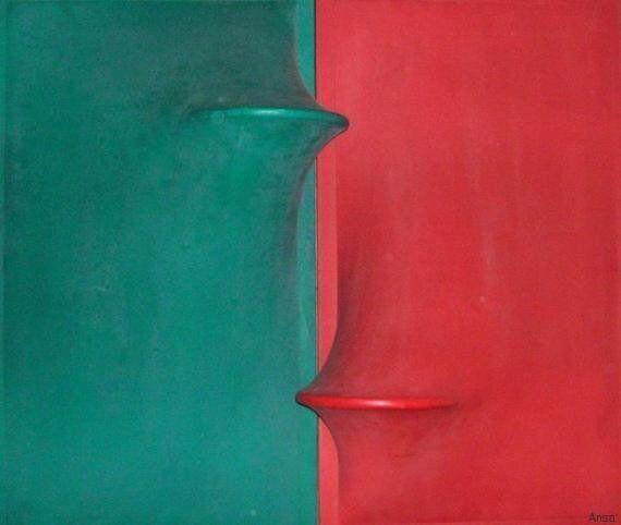 L'arte italiana senza figure che piace agli