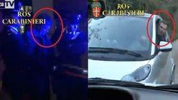 Arrestato due giorni prima, il doppio video della cattura di