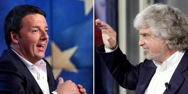 Matteo Renzi premier: per quattro italiani su dieci si sta peggio. Grillo sfiduciato dagli elettori M5s....