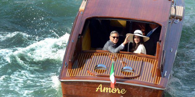 Amal Amuddin e George Clooney scelgono l'hotel per i festeggiamenti: ai clienti viene cancellata la prenotazione