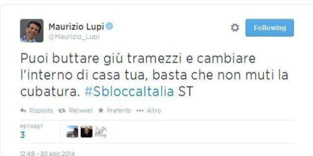 Maurizio Lupi spiega le misure del pacchetto casa: