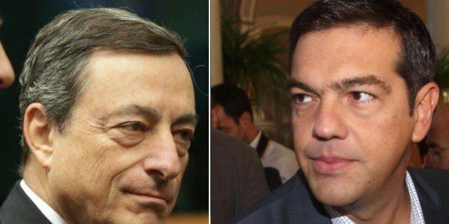 Quantitative Easing, la carota di Mario Draghi ad Alexis Tsipras: il programma toccherà la Grecia se...