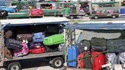 Centinaia di bagagli bloccati, a Fiumicino è caos