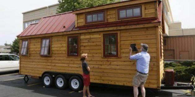 Case piccole e a 4 ruote: l'ultima moda USA. Tiny House Movement: il ritorno a una vita semplice ed economica