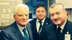 Pilota Alitalia spara durante lite in casa.