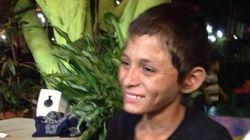 Luis piccolo senzatetto che sogna di diventare