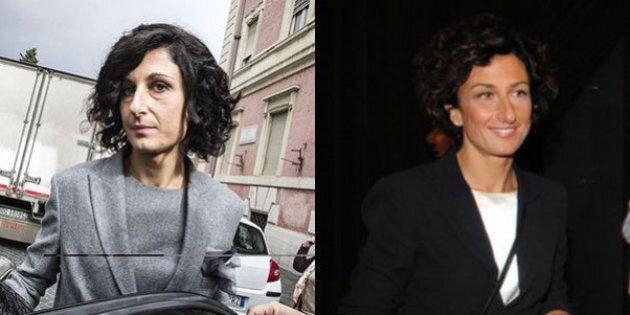 Agnese Renzi, nuovo taglio di capelli promosso da Carlo Rossella. E la first lady entra nei salotti buoni...