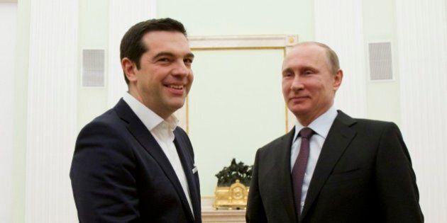 Alexis Tsipras a Mosca, Vladimir Putin: