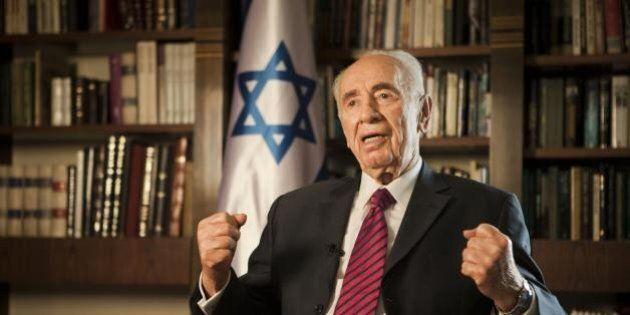 Israele, incontro con l'ex Presidente Shimon Peres: