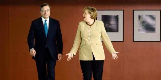 Angela Merkel chiama Mario Draghi: