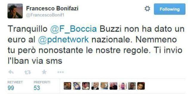 Mafia Capitale, Francesco Bonifazi Vs Boccia su twitter: